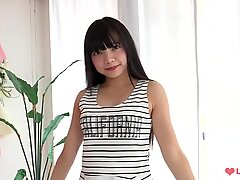 asian g-string taunt - White Panties Softcore