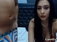 Hot Latina Babe Gets Banged In Doggy And Cowgirl