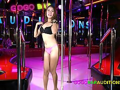 18 year old Thai girl casting to become a gogo dancer